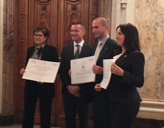 Premio all'Accademia Italiana della Marina Mercantile