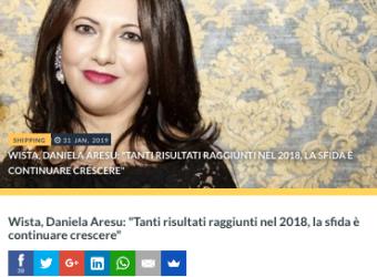 Daniela Aresu: la sfida è continuare crescere